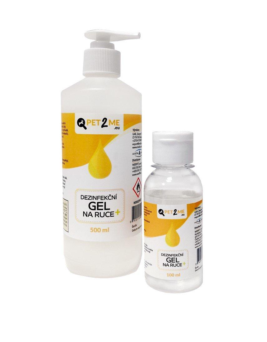 Pet2me Dezinfekční gel na ruce