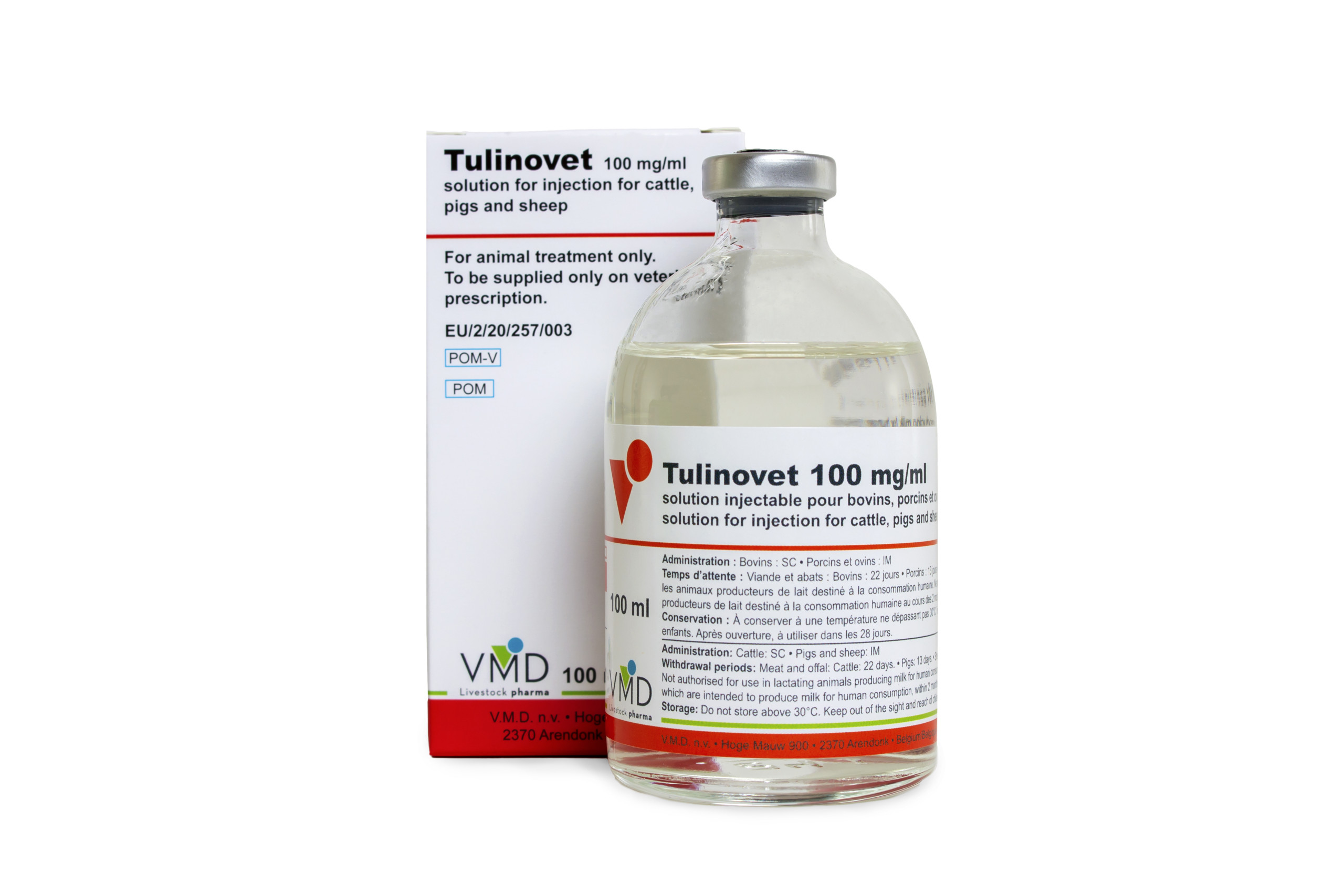TULINOVET® 100 MG/ML